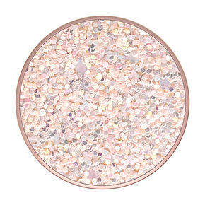 PopSockets Swappable PopGrip - Sparkle Rose,