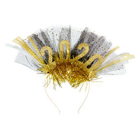 2020 Party Headband - Gold,