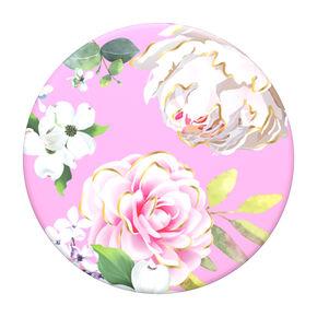 Pink Floral PopGrip PopSocket,