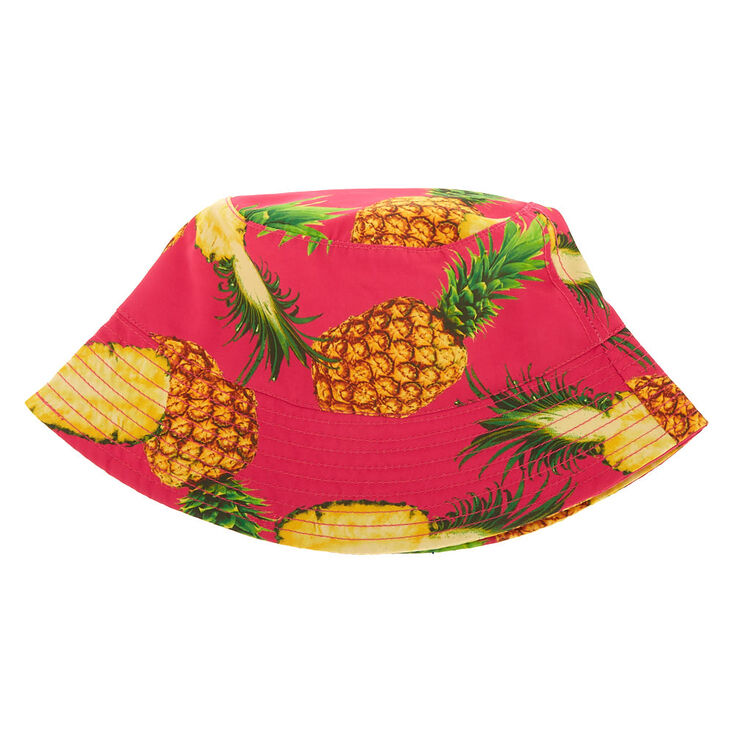 Pineapple Bucket Hat - Pink,