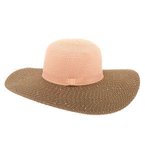 Sequin Floppy Hat - Blush,