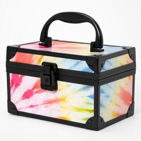 Rainbow Tie Dye Lock Box,