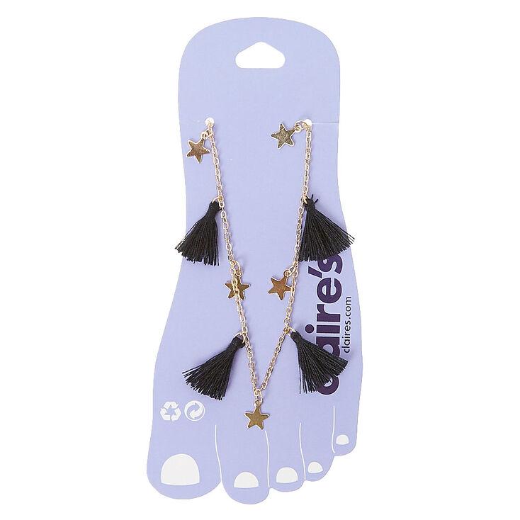 Stars & Tassels Anklet Bracelet,