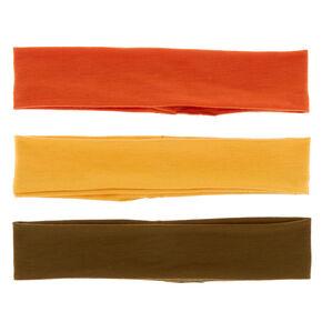 Autumn Trio Stretch Headwraps - 3 Pack,