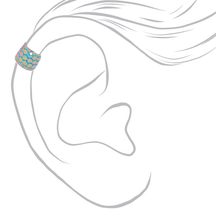 3 Pack Mermaid Ear Cuffs,