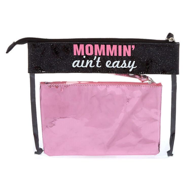 Mommin' Ain't Easy 2 Piece Clutch Set,