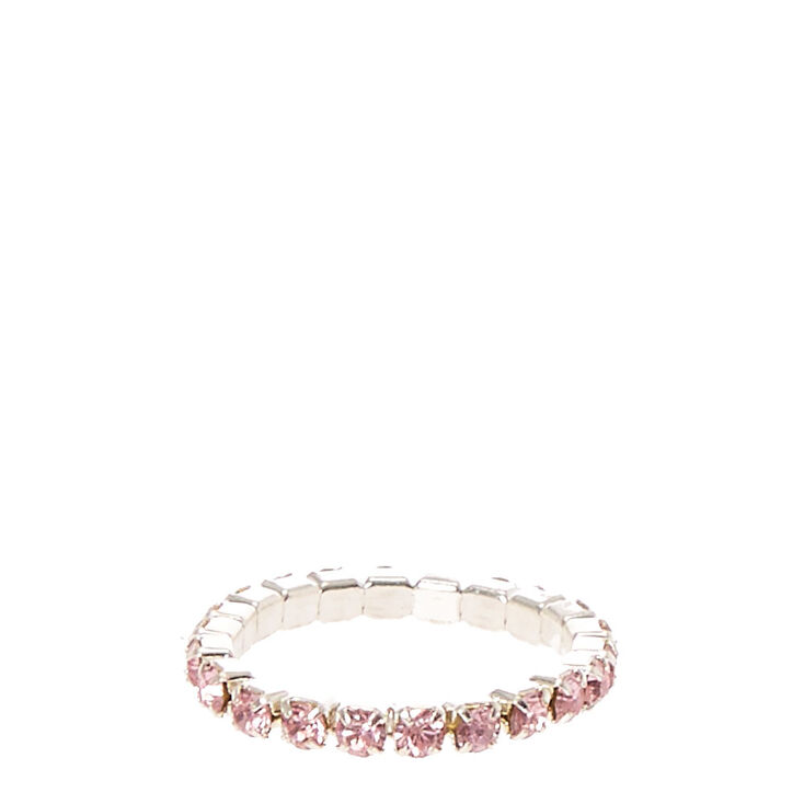 Pink Stretch Toe Ring,