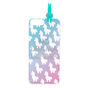 No Drama Llama Ombre Popover Phone Case - Fits iPhone 6/7/8 Plus,