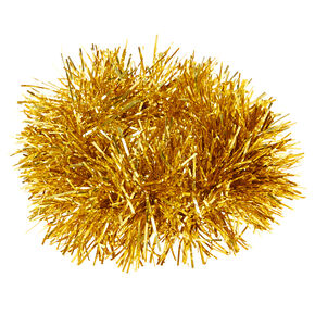 Tinsel Hair Scrunchie - Gold,