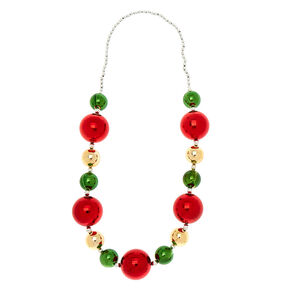 Holiday Baubles Necklace,
