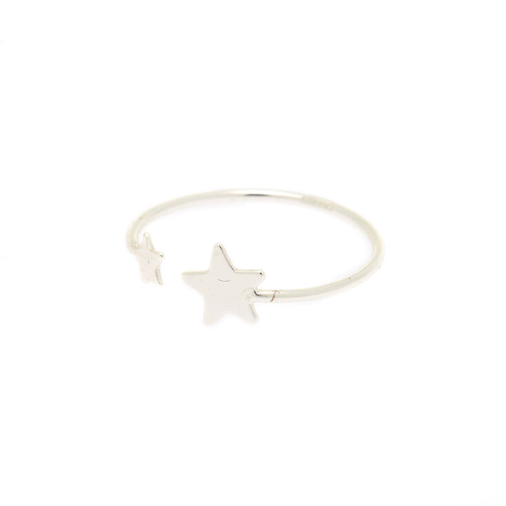 Sterling Silver Shooting Star Ring,