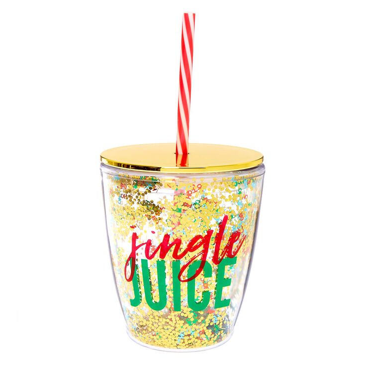 Jingle Juice To Go Cup - Gold,