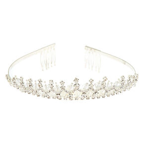 Silver Snow Queen Tiara,