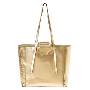 Metallic Gold Tote Bag,