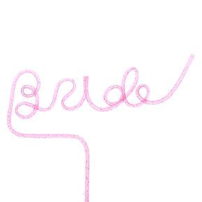Bride Script Straw - Pink,