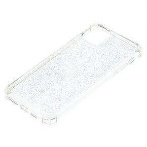 Clear Glitter Protective Phone Case - Fits iPhone 11 Pro,