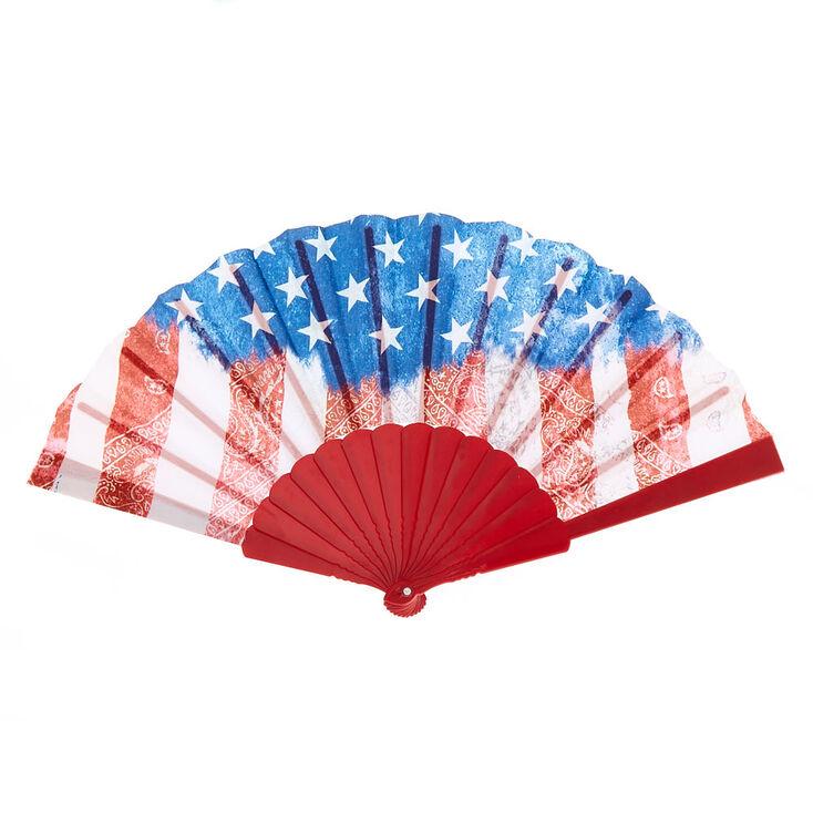American Flag Fan,