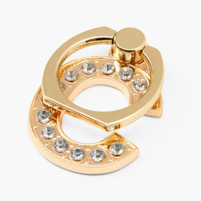 Gem Initial Ring Stand - C,