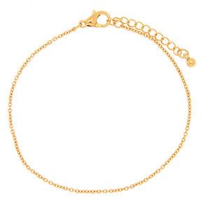 Gold Chain Bracelet,