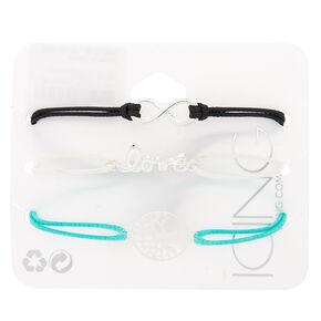 Symbol Chain Bracelets - 3 Pack,