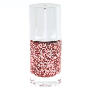 Rosé All Day Chunky Glitter Nail Polish - Rose Gold,