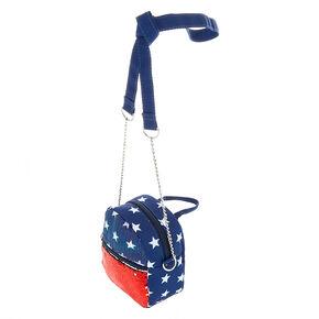 Reversible Sequin Crossbody Bag,