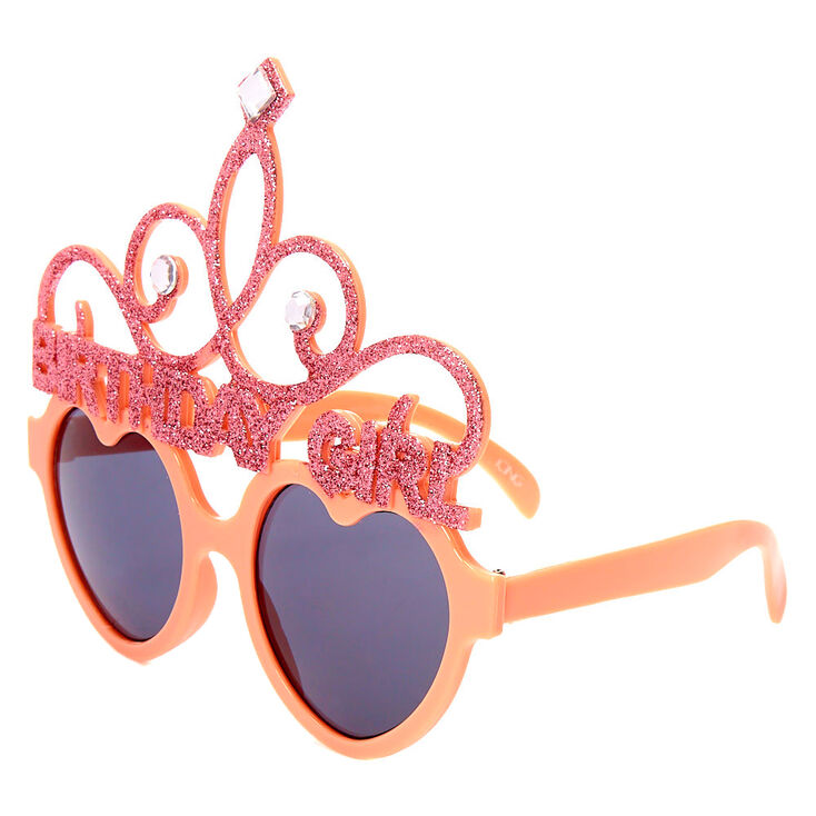 Birthday Girl Tiara Sunglasses - Pink,