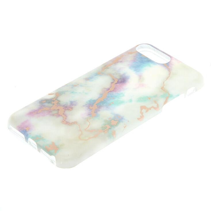 White Pastel Marble Phone Case - Fits iPhone 6/7/8/SE,