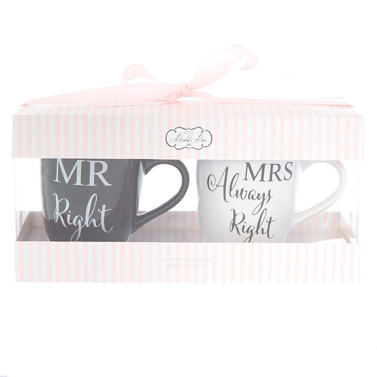 Bride & Groom Mug Set - 2 Pack,