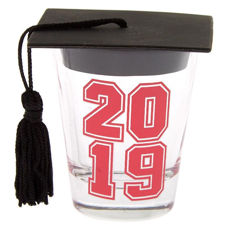 2019 Graduation Shot Glass - Pink,
