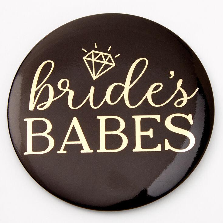 Bride's Babes Button,