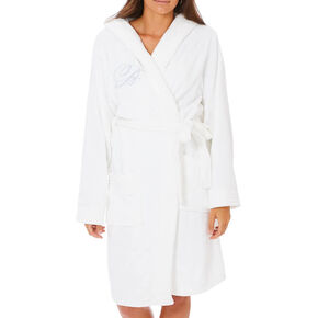 White Bride Bathrobe,