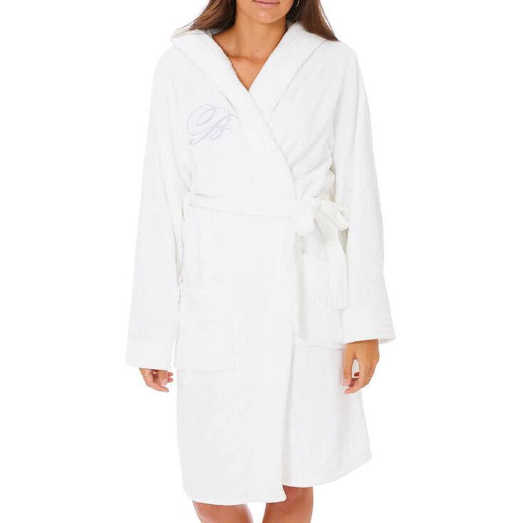 White Bride Bathrobe,