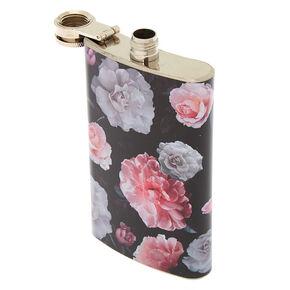 Floral Flask - Black,