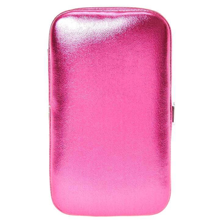 Metallic Hot Pink Manicure Kit,