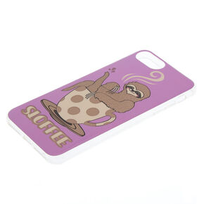 Purple Sloffee Phone Case - Fits iPhone 6/7/8 Plus,