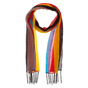 Day of The Dead Rainbow Fashion Scarf,