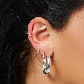Sterling Silver Curated Ear Set,