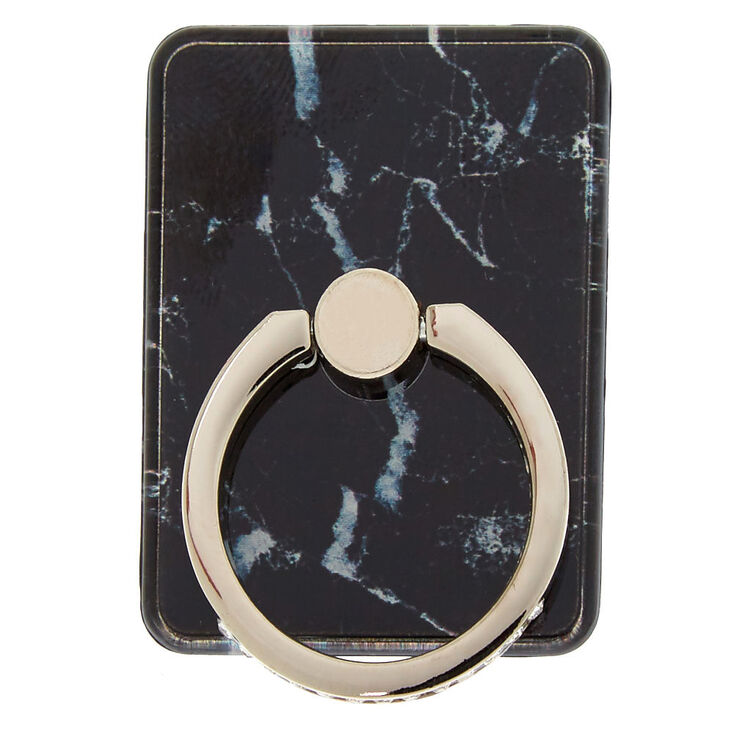 Black Marble Ring Stand,