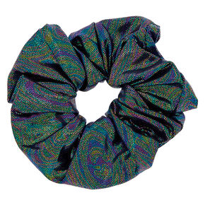 Metallic Space Hair Scrunchie,