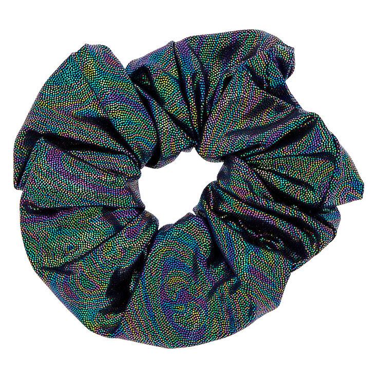 Metallic Space Hair Scrunchie,