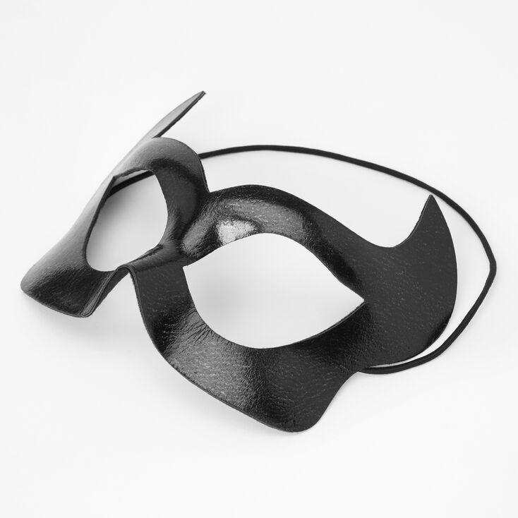 Shiny Villain Mask - Black,