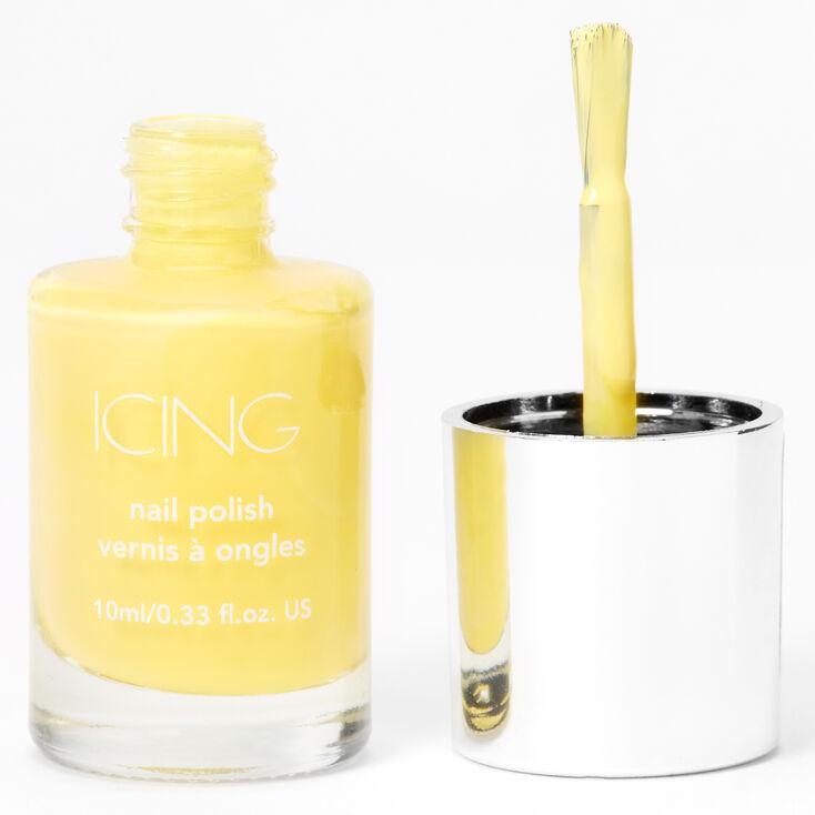 Single Nail Polish - Pastel Yellow,