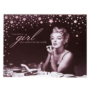 Marilyn Monroe Just a Girl Wall Art,