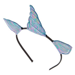 Metallic Oil Spill Unicorn Headband,