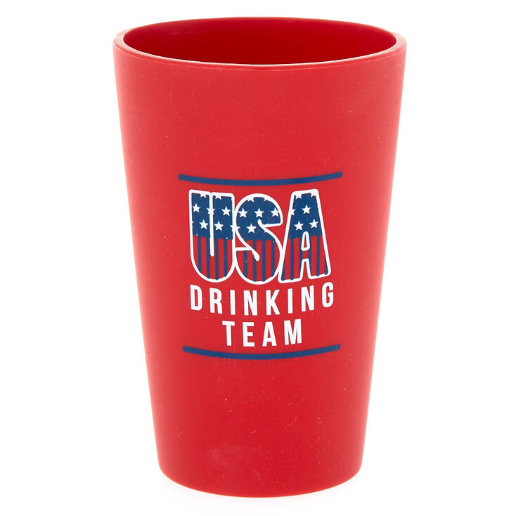 USA Drinking Team Silicone Cup,