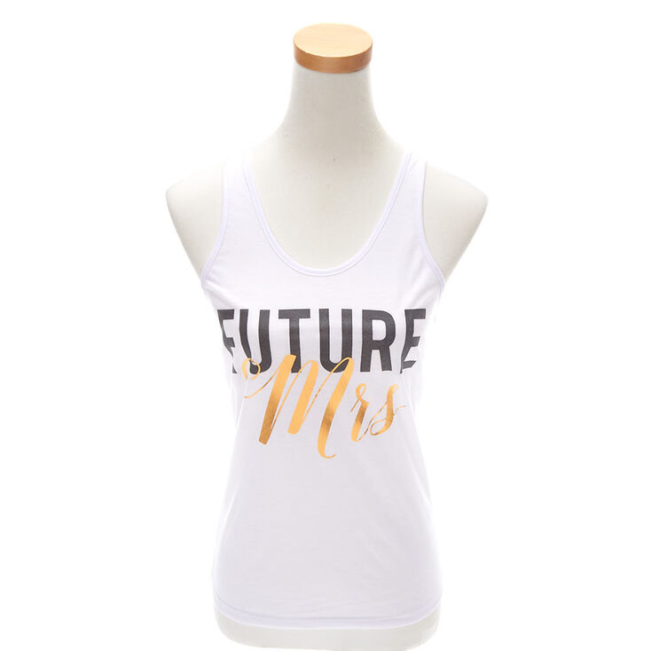 Future Mrs. Tank Top - White,