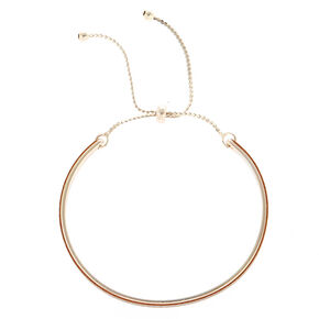 Glitter Cuff Bracelet - Rose Gold,