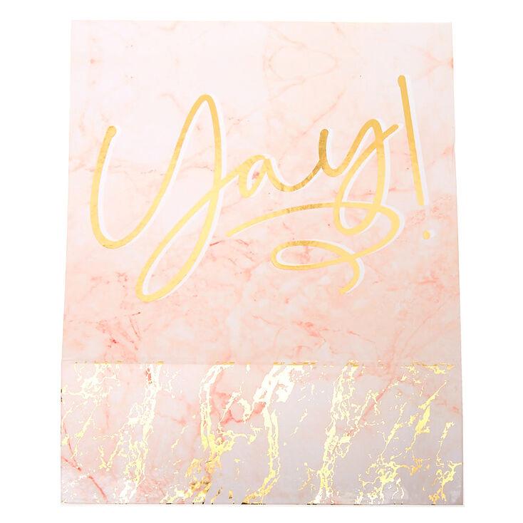 Marble Yay! Bridal Gifting Box,
