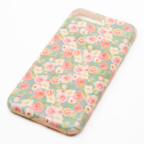 Pink & White Floral Phone Case - Fits iPhone 6/7/8,